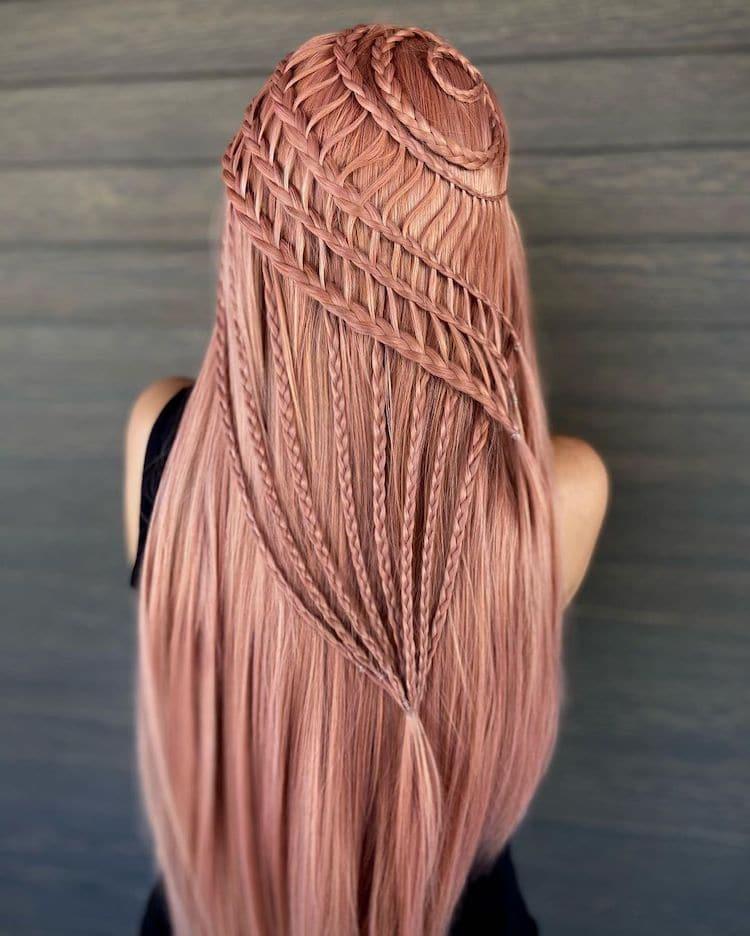 Hair Braids by Alejandro Lopez