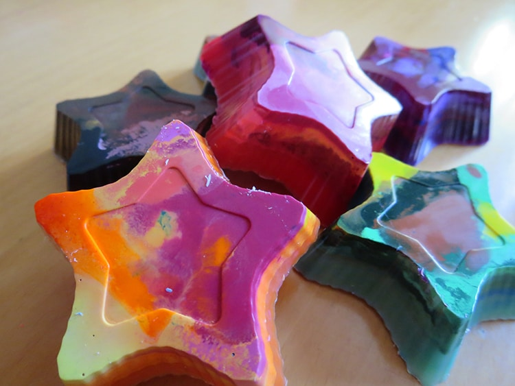 Homemade Recycled Crayons