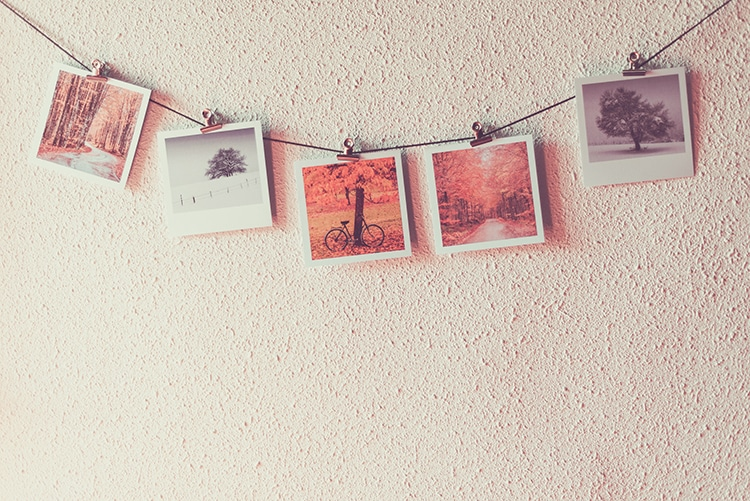 Polaroid Instax Wide Clothesline Hanging