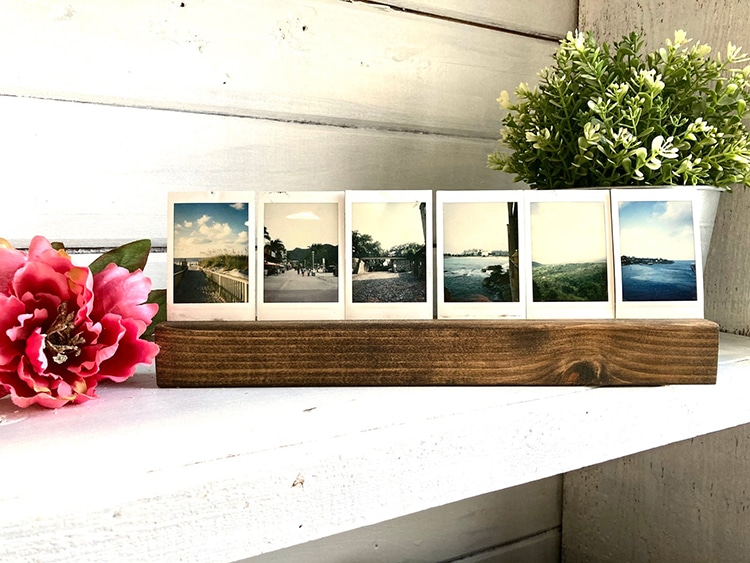Instax Wooden Photo Stand