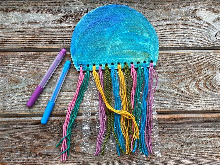 Kids Jellyfish Craft