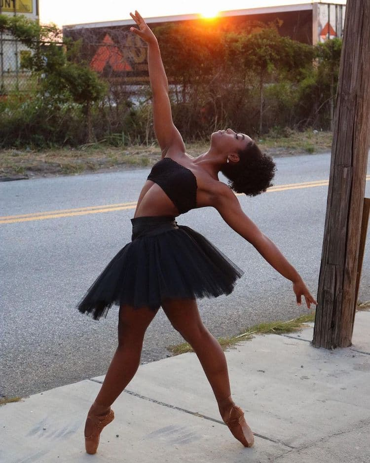 Kira Robinson Black Ballerina