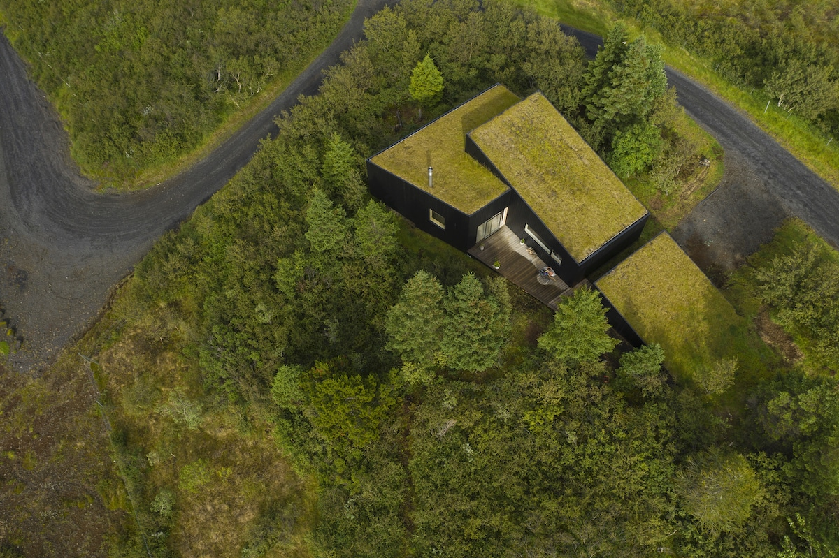 This Green Home Was Designed to Fit Perfectly in the Icelandic Hillside