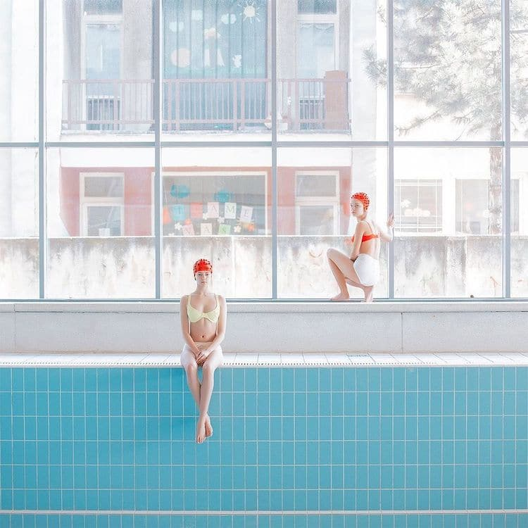 Swimming Photography by Maria Svarbova
