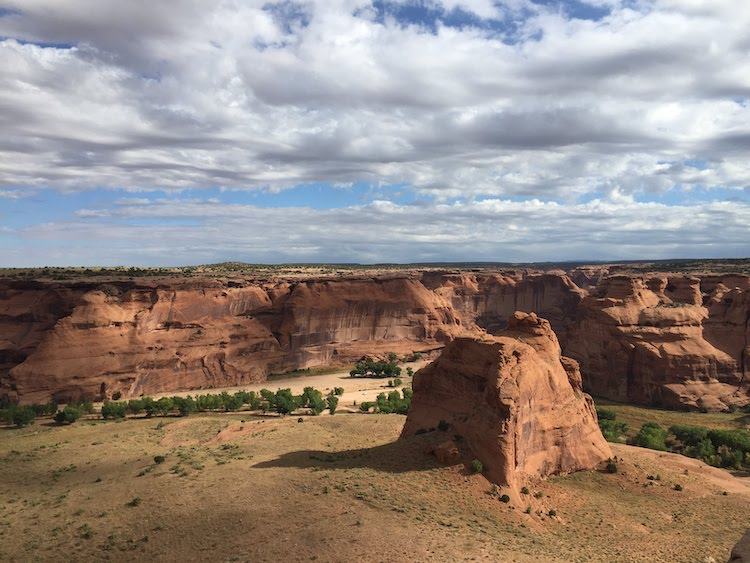 Canyon de Chelly National Monument in Navajo Nation