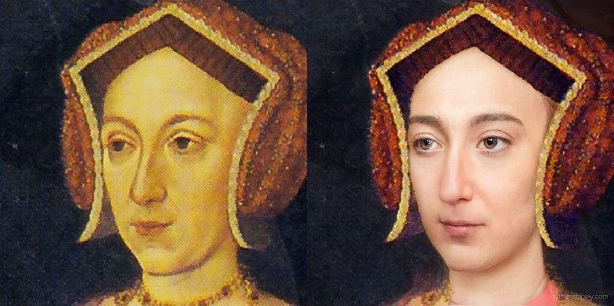 Historical AI Portraits by Nathan Shipley
