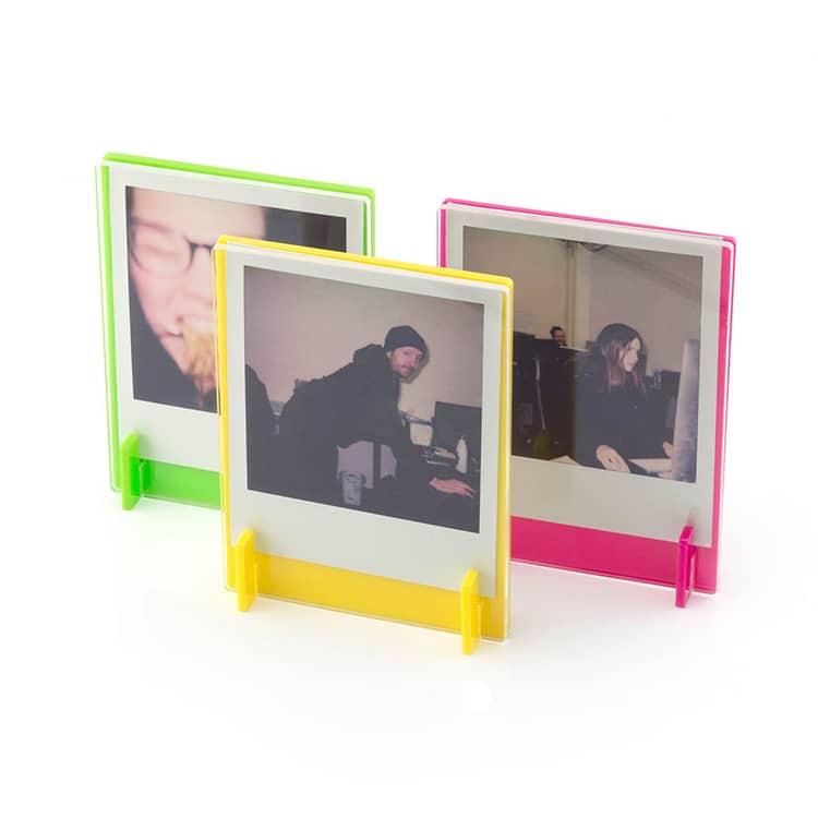 Neon Polaroid Frames