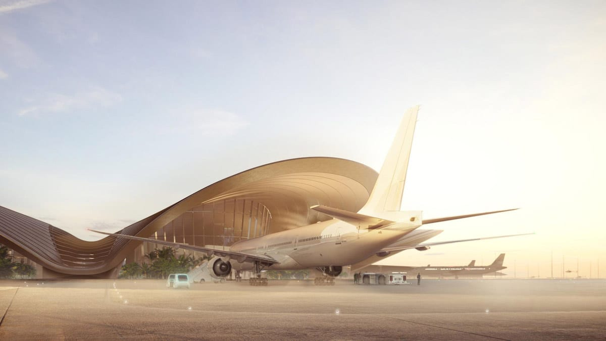 Foster + Partners Is Designing a New International Airport for Saudi Arabia's Red Sea Project