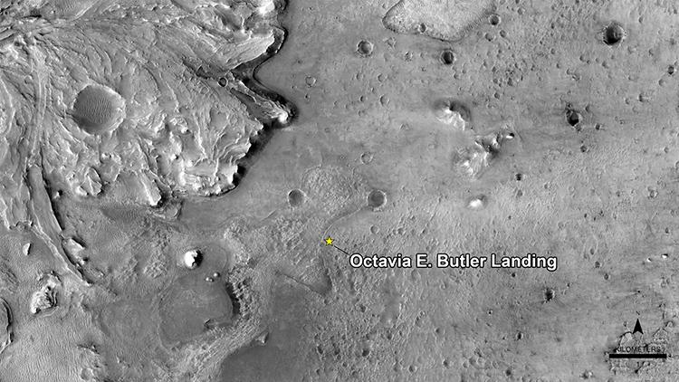 Octavia Butler Landing Site