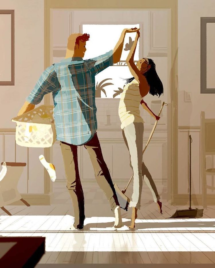 Heartwarming Digital Illustrations by Pascal Campion
