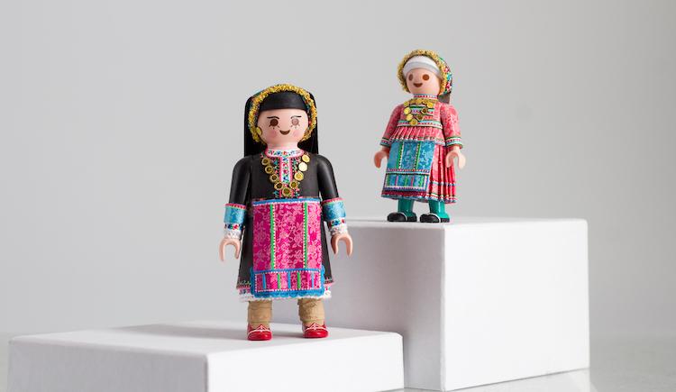 muñecos Playmobil petros kaminiotis playmogreek greek folk dance playmobil 2