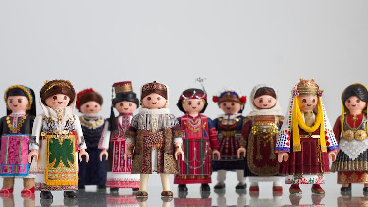 Greek Folk Dance Costume Playmobil Toys