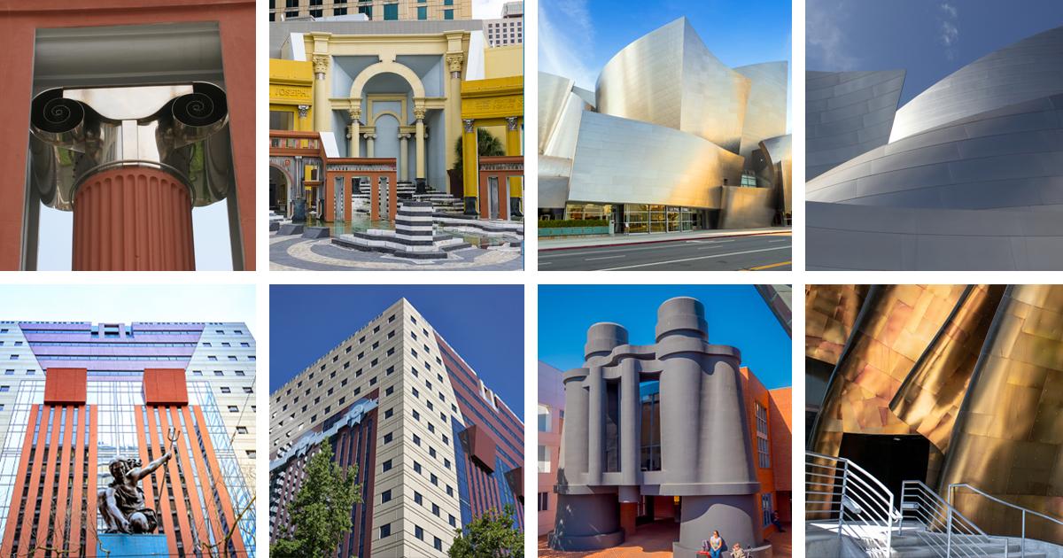 ejemplos de arquitectura posmoderna