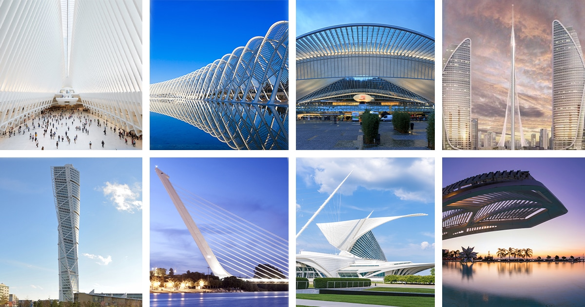 The Architecture of Santiago Calatrava - 15 Amazing Structures by the Architect and Structural Engineer