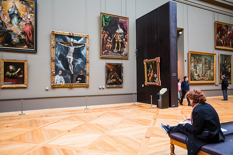 The Entire Louvre Collections Online Explore Virtually Galleries Paris