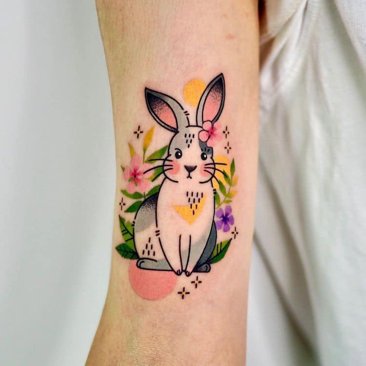 Abstract Animal Tattoos by Hen