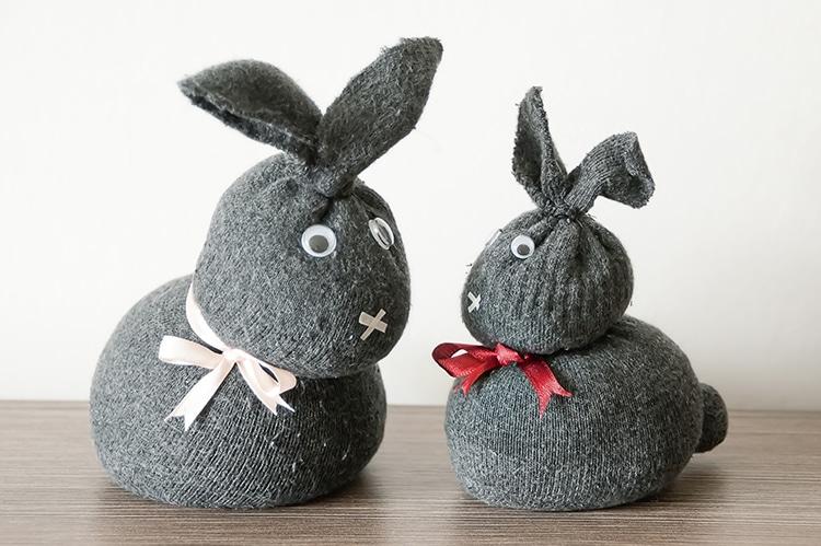 Sock Bunny Craft