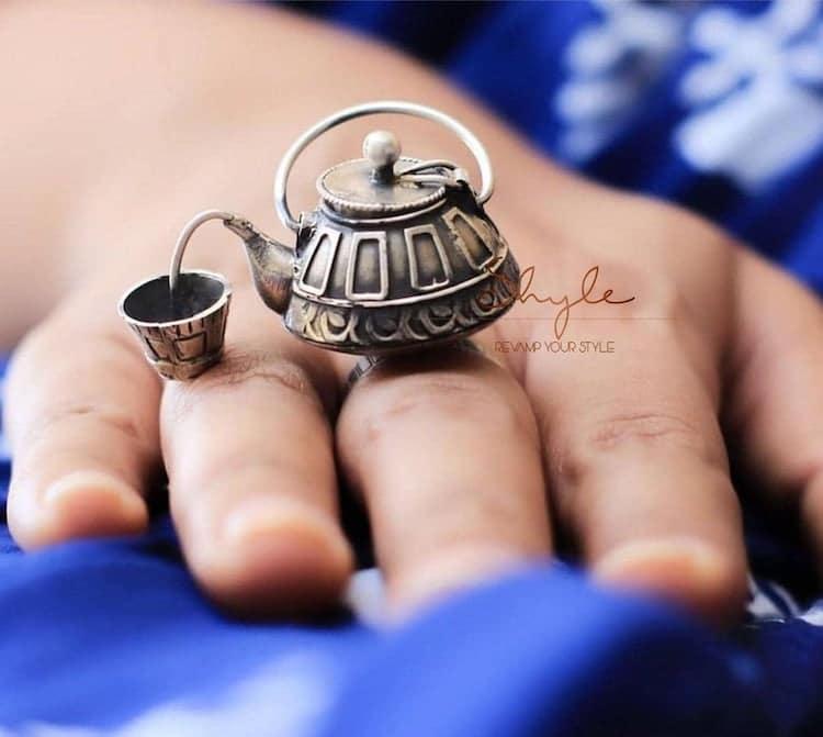 anillo de tetera por Shyle
