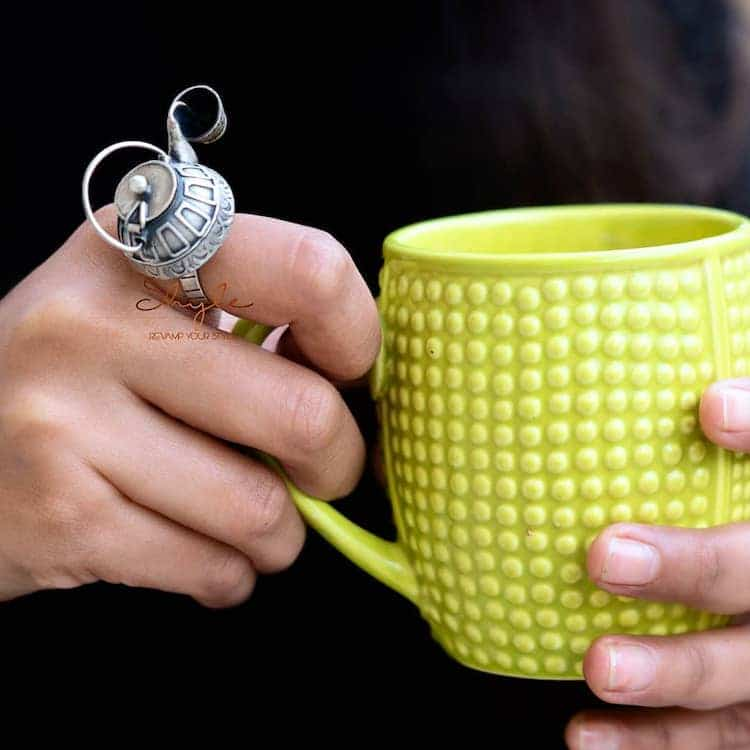 Tea Kettle Ring by Shyle
