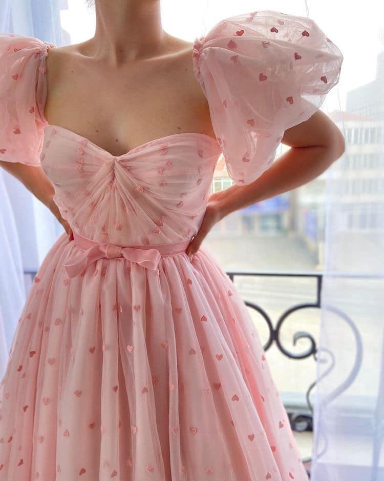 vestidos bonitos de Teuta Matoshi
