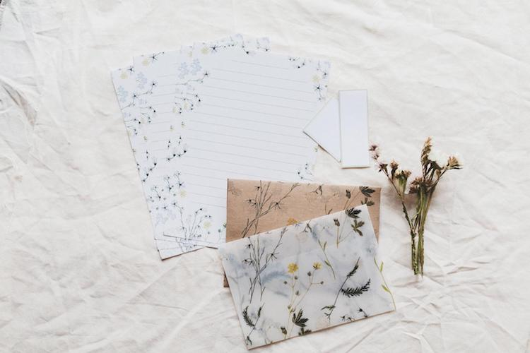 Wildflower Stationery Set