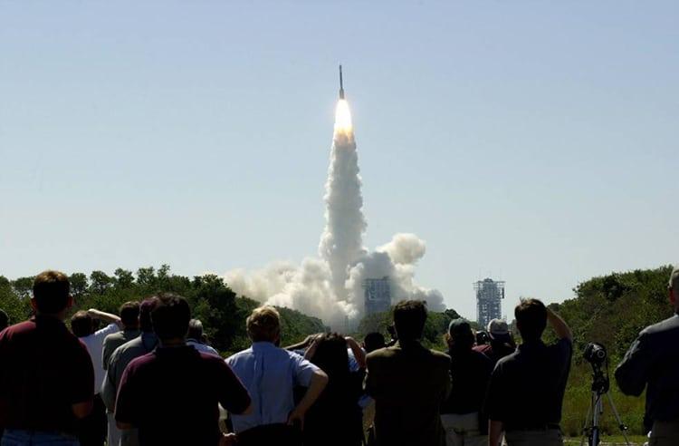 Mars Odyssey Orbiter Launch 2001