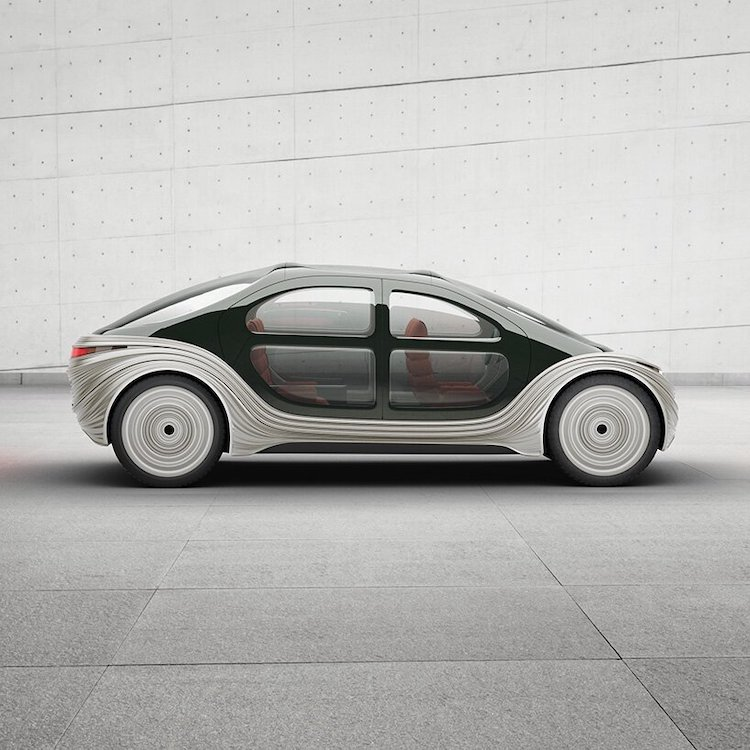 Airo Electric Car Side View