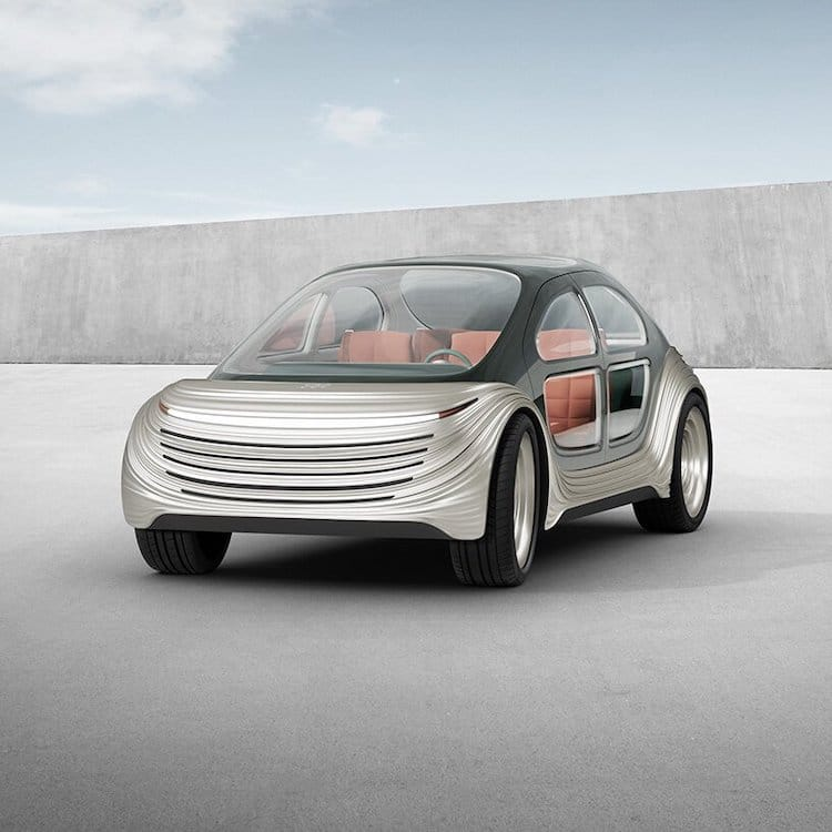 Airo Electric Car Frontal View