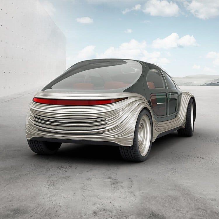 Airo Electric Car Rear View