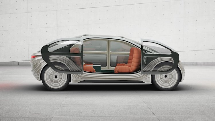 Airo Electric Car With Open Doors