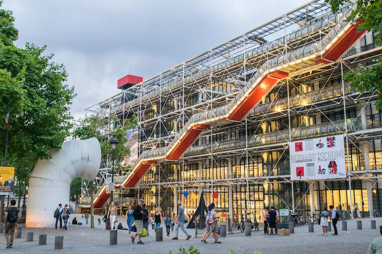 Centre Pompidou à Paris