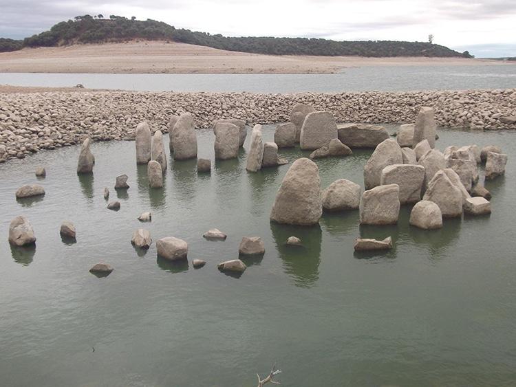 El dolmen of Guadalperal, un monumento megalítico en Extremadura, España
