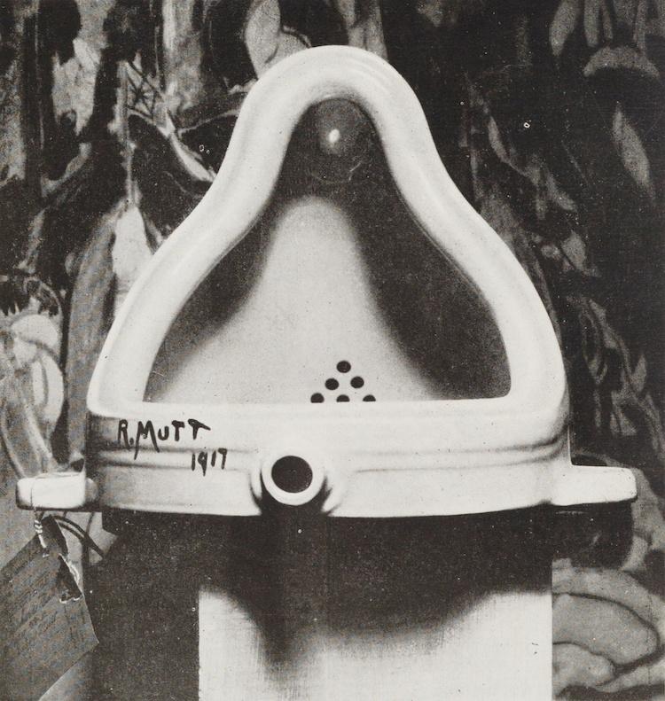 Fontaine par Marcel Duchamp