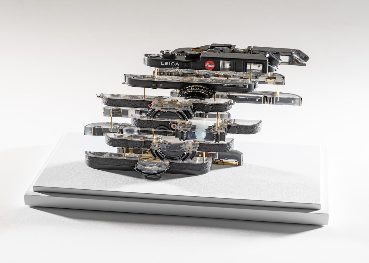 Deconstructed Camera by Fabian Oefner