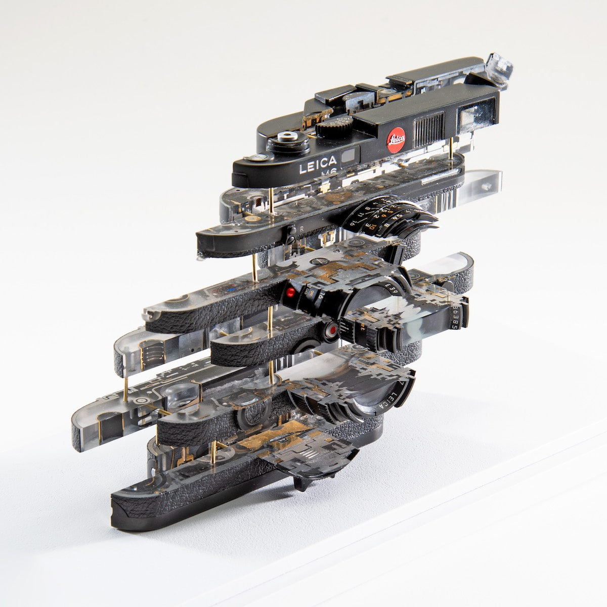 Deconstructed Leica by Fabian Oefner