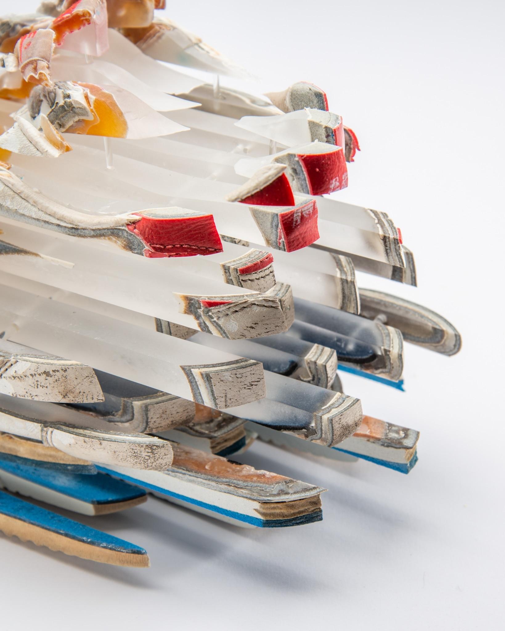 Deconstructed Nike Sneakers