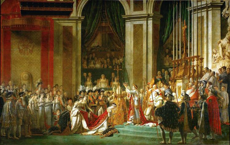 Jacques-Louis David, Sacre de l'empereur Napoléon Ier et couronnement de l'impératrice Joséphine