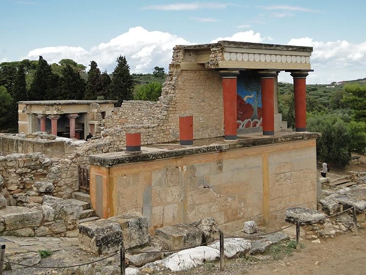 Knossos North Portico