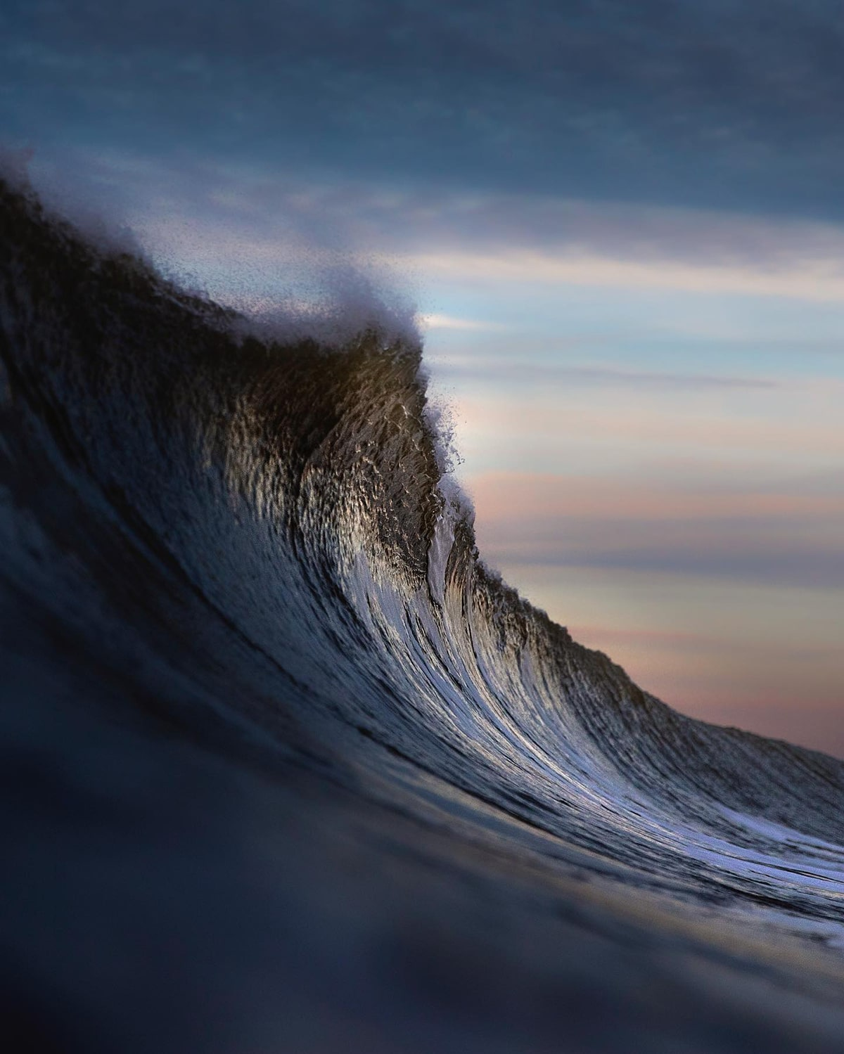 Michal Pelka Wave Photography North Sea Surfing Photographer