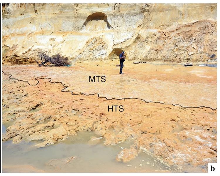 100,000 Year Old Hominim footprints