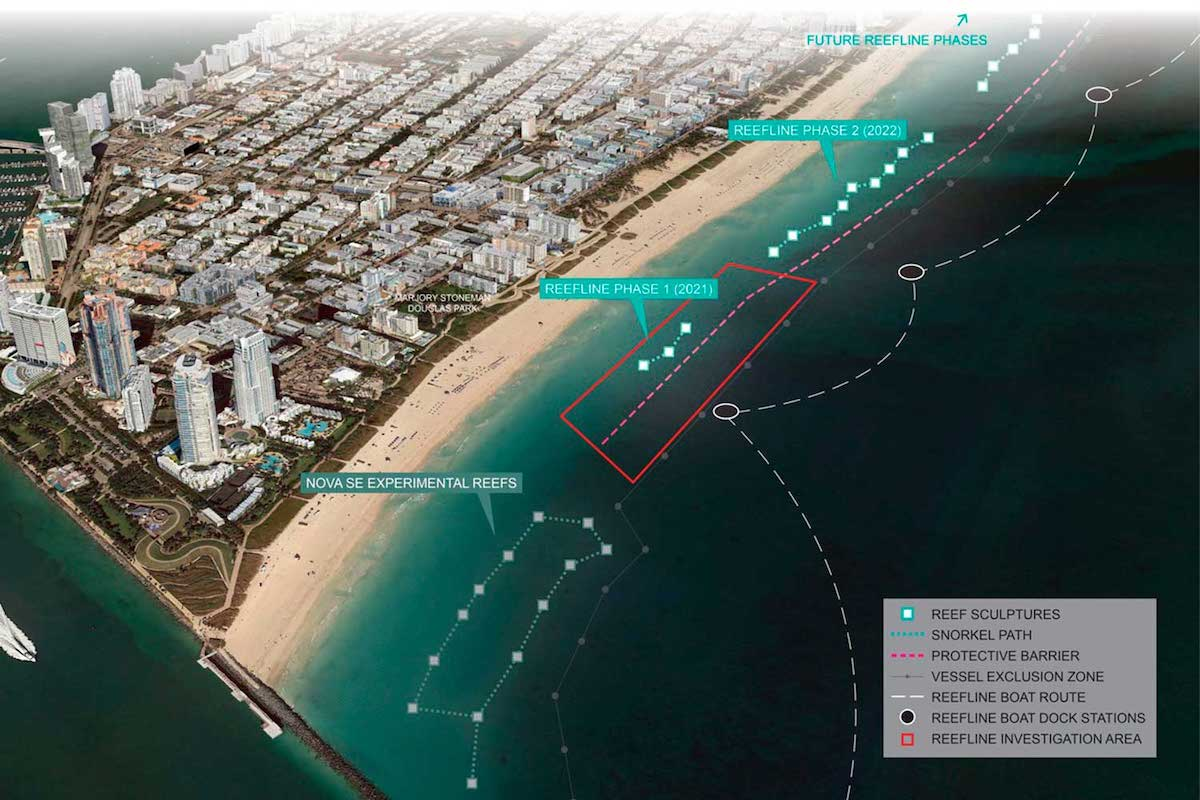 Miami Beach's First Underwater Sculpture Park is 7 Miles Long and Will Open Later This Year