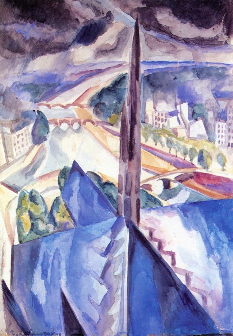 Robert Delaunay - La Flèche de Notre-Dame
