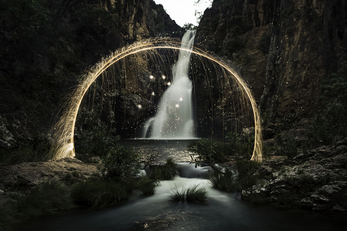 Light Painting Nature Photography