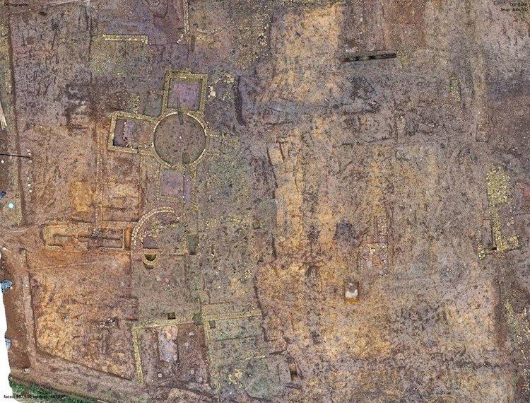 Antigua villa romana encontrada en Yorkshire