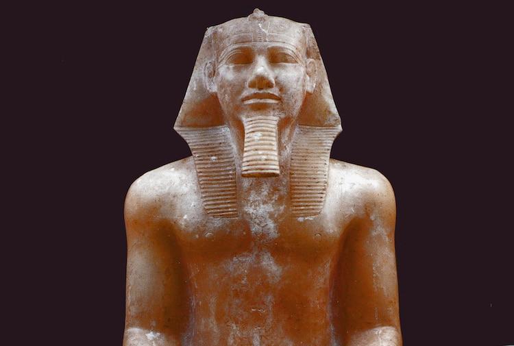 Alabaster Statue of Khafre