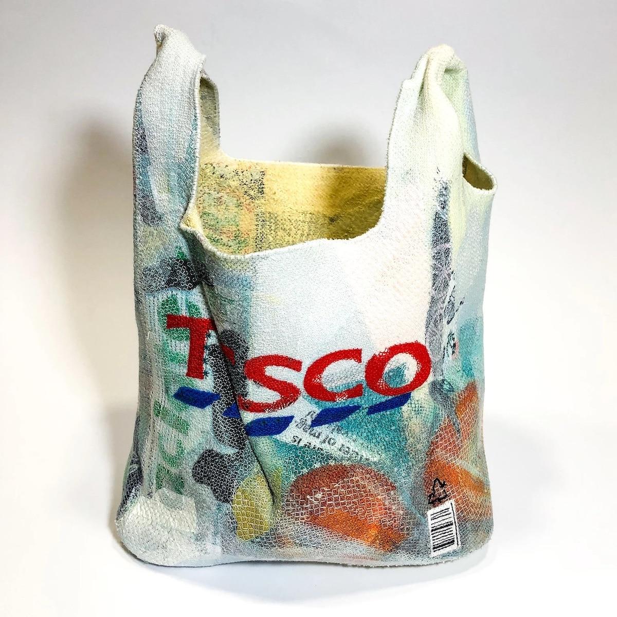 Embroidered Felt Tesco Bag