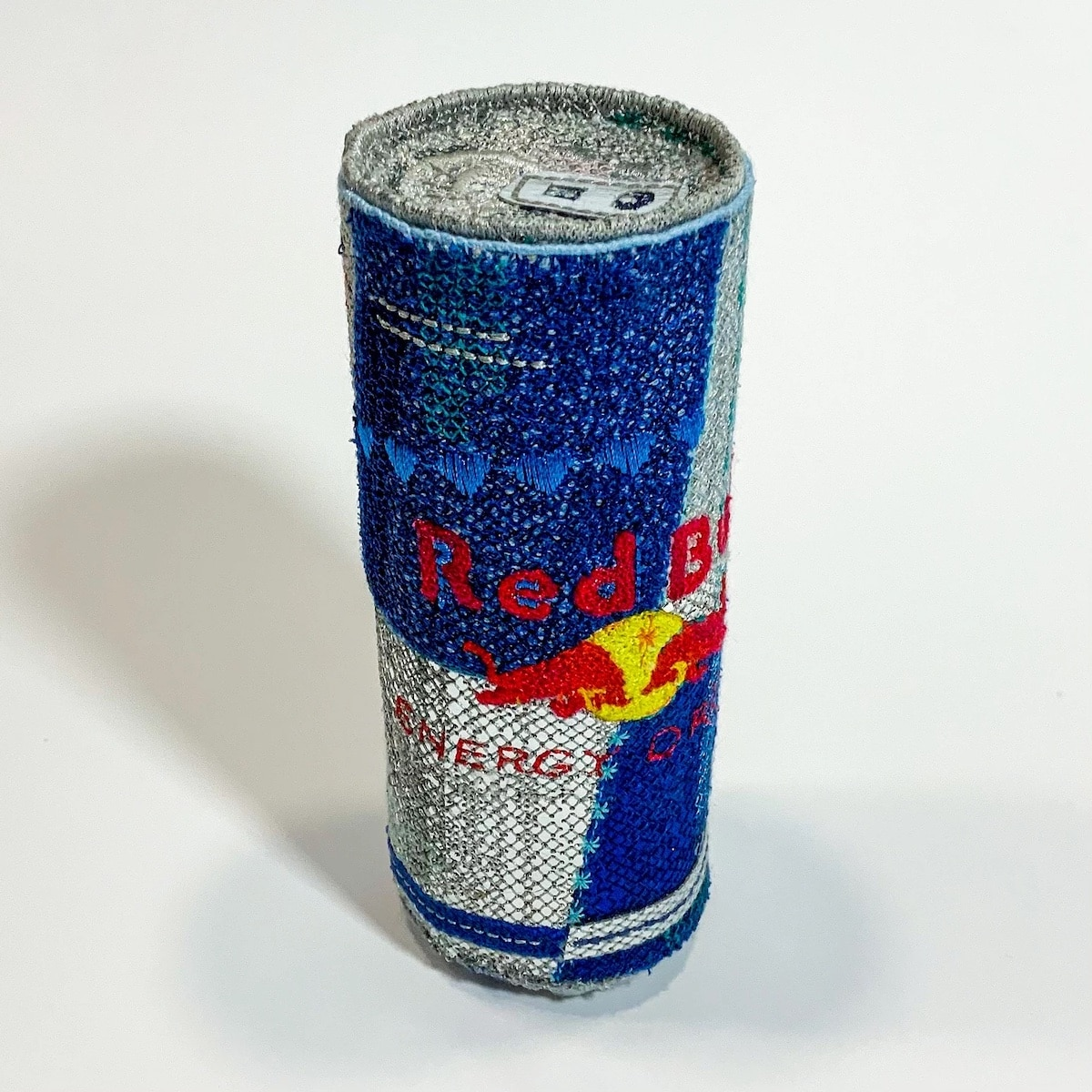 Felt and Embroidery Red Bull