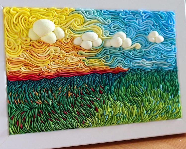 Clay Art by Alisa Lariushkina