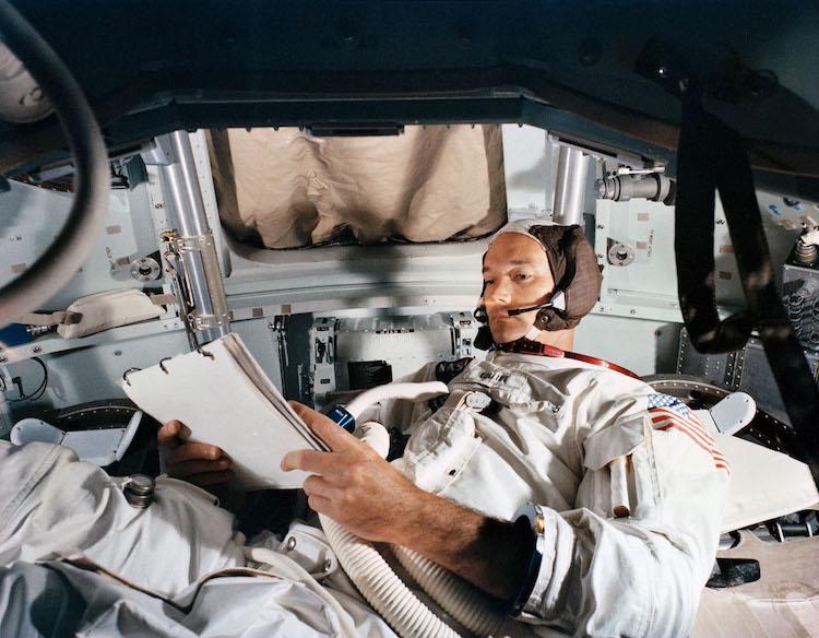 NASA Astronaut Michael Collins