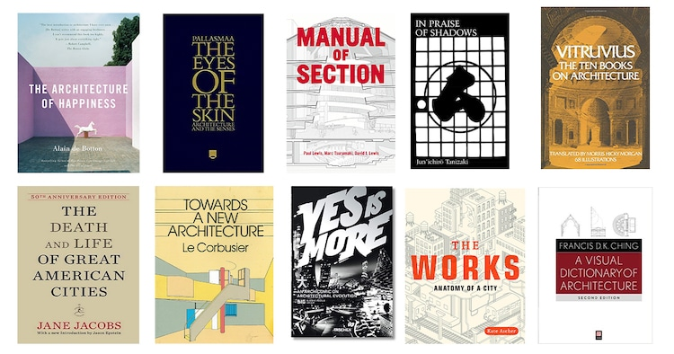 25 Books Every Architect and Architecture Lover Should Read
